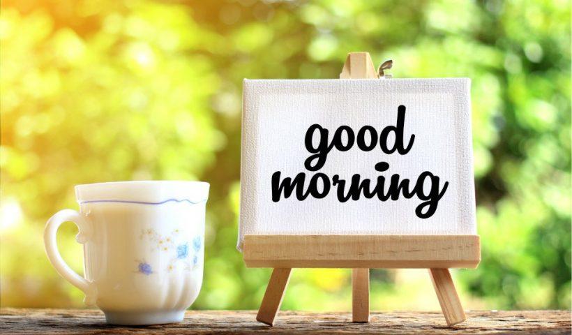 How To Start Morning?